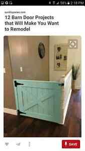 Needed: Custom built baby gate