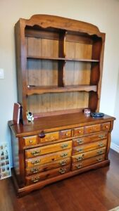 Hutch for boys room  (top part only)