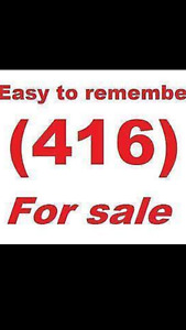 416/647/905 Easy To Remember Lucky Vip Numbers For Sale