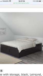IKEA Brimnes Queen size bed for sale