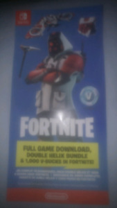 Fortnite nintendo switch code