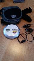 CD player with the case, SONY