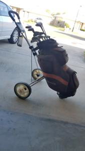 Golf Club Set - With Cart Bag [SOLD]