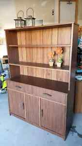 Mint Condition, Shelving Hutch / Dining Room Hutch