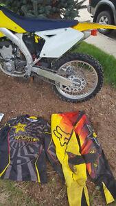 Selling my RMZ 250 4 Stroke dirtbike