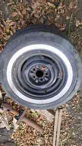 1952 ford steel rims 4 + spare West Island Greater Montréal image 2