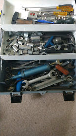 Selection on vintage tools