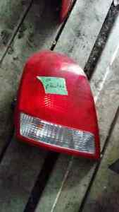 Hyundai Elantra tail lights