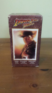 Indiana Jones Trilogy VHS Collector's Edition
