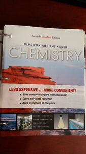 Chemistry 2nd Canadian Edition by Olmsted, Williams and Burk