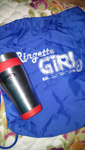 New Ringette cinch bag and insulated mug