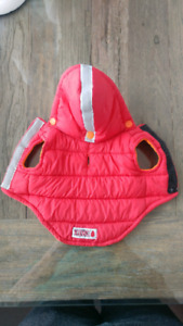 Toy dog puffer vest
