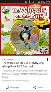 Sing along CD and book sets