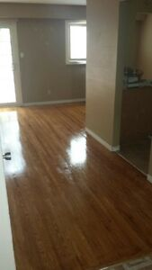 Cabinet and Floor Refinishing