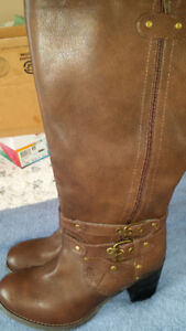 Wide fitting and wide calf Brown Boots