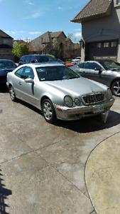 2001 Mercedes Benz CLK320 CLK 320