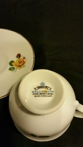 Sadler Wellington Fine Bone China - Tea Cup and Saucer Belleville Belleville Area image 2