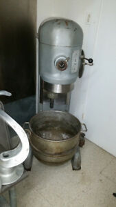 60 Quart Hobart Dough Mixer with all Attachments!
