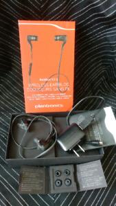 Plantronics backbeat go 2 wireless earbuds, usb
