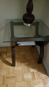 Side Table and Display Cabinet for sale