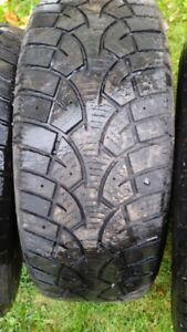 "Set of 4-195/60/15""Winter tires Also a Pr. of 185/60/15"" Winters"