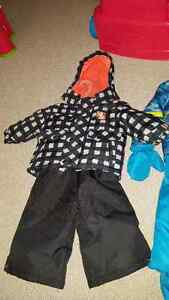 Two new snowsuits for sale