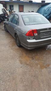 2004 Honda Civic Sedan  winter tires SUSSEX AREA