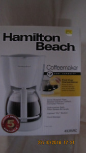 NEW 12 cup coffee maker