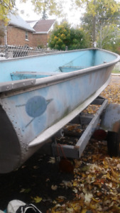 14 ft Aluminum Boat for sale