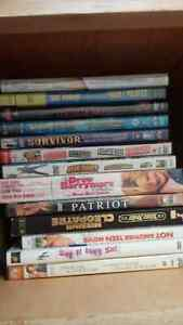 Cds, DVDs, books, games, videos