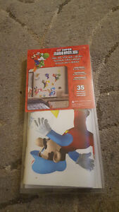 Peel and Stick New Super Mario Bros Wall Decals Autocollants