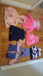 6 baby girl clothes(3m) for sell.20 for all.
