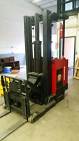 Raymond Electric Forklift w/Charger for Sale. Indoor Rated