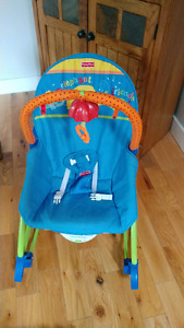 Infant to toddler rocker with vibrations