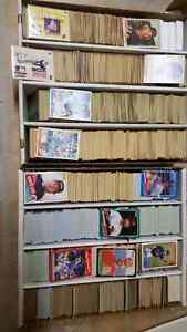 Huge baseball card collection 1978 and up plus stickers