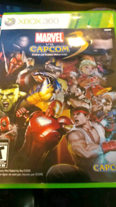 MARVEL VS CAPCOM XBOX 360
