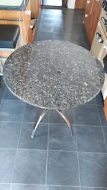 Granite breakfast/kitchen table
