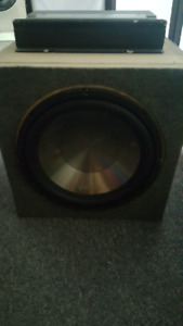 Subwoofer in box