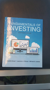 Fundamentals of investing 13 edition