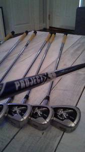 Full set 4-PW Callaway tour 2.0 with project X shafts