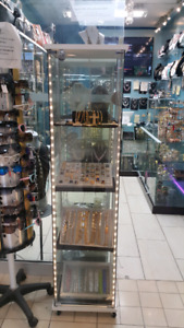 Ikea glass display cabinet for jewelry