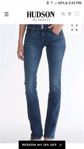 Hudson Baby Beth Jeans BNWT size 32 long