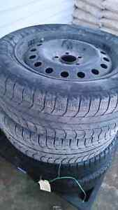 Winter Tires and Rims $250