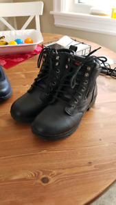Size 9.5 Ladies Motorcycle Boots