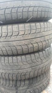 R15 195-65 MICHELIN WINTER TIRES