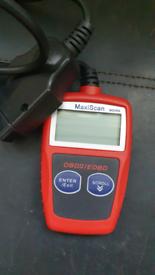 MS309 OBD2 OBDII EOBD Car Fault Code Reader MaxiScan MS309 Diagnostic