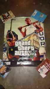 Gta 5 poster/wrong release date spring 2013 Make offer