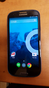 Telus Samsung S3 rooted phone