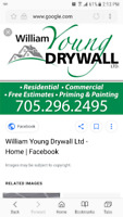 If you work for William Young Drywall, don't expect to be paid!