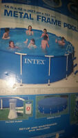 INTEX pool for sale....great deal!@